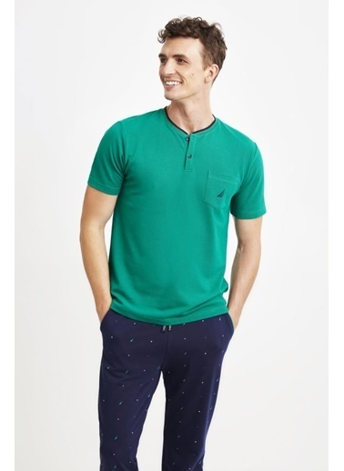 Nautica Pijama Takım Yeşil